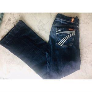 7 for all mankind dojo jeans 26